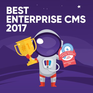 Pimcore gewinnt CMS Critic Award - Best Enterprise CMS anyMOTION Goldpartner