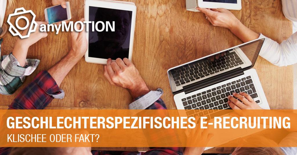anyMOTION Geschlechterspezifisches E-Recruiting Whitepaper Teaser