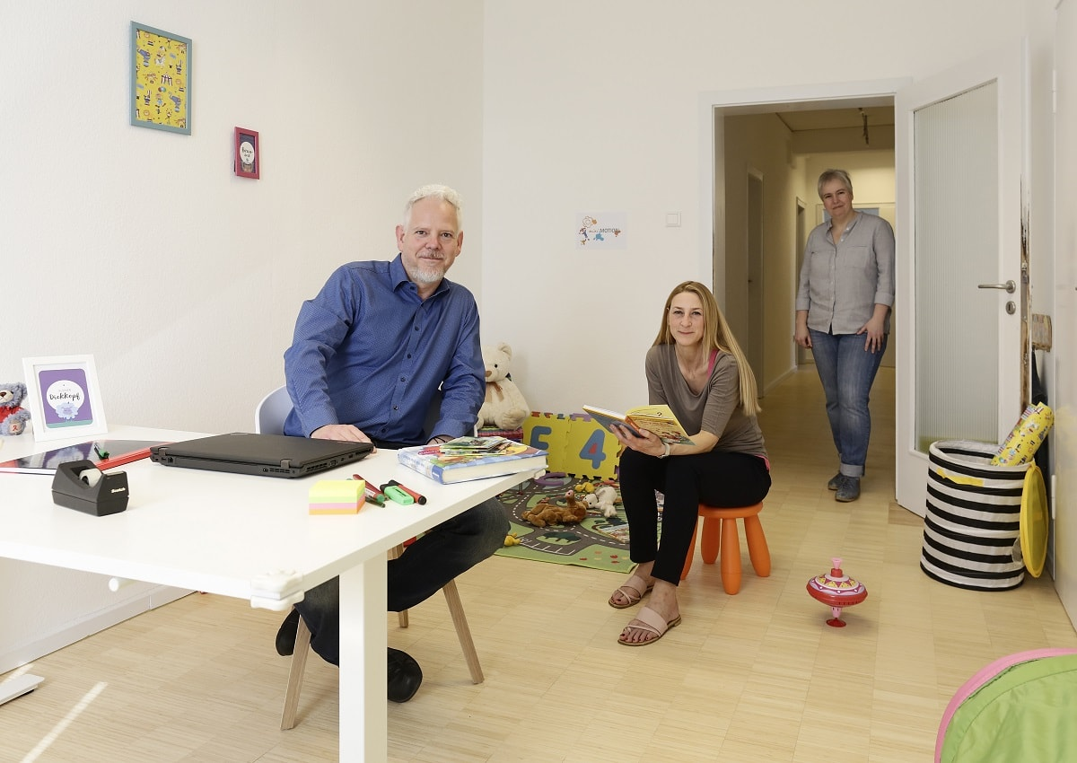 anyMOTION Digitalagentur Düsseldorf digitale Kompetentz - Präsentation Eltern-Kind-Büro - Geschäftsführung
