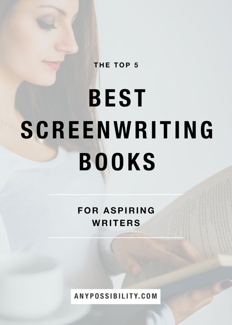 The Top 5 Best Screenwriting Books for Aspiring Writers. Everything from how to write a screenplay to how to market yourself to how to stay inspired. Filmmaking   Screenwriting   Writing