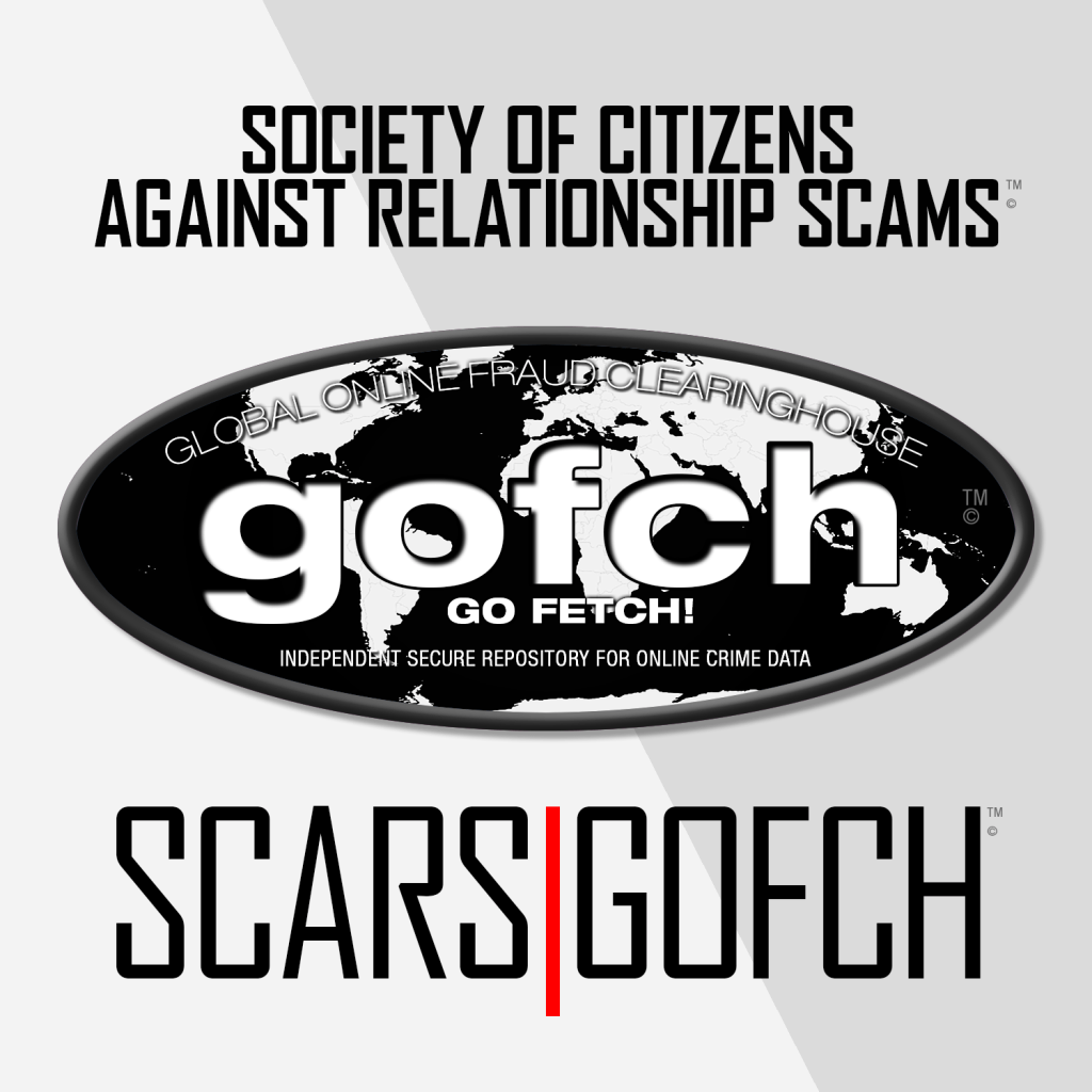 SCARS|GOFCH™ - Global Online Fraud Clearinghouse™ - A Division of SCARS Manages The SCARS|CDN™ Worldwide