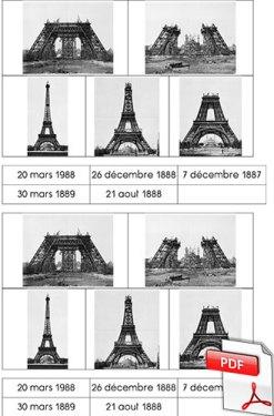 Histoire des arts - La Tour Eiffel - fiche