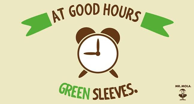 a buenas horas, mangas verdes