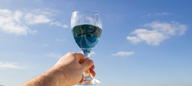 Blue Wine! Whatever next?!!!