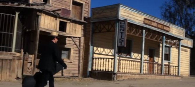 Teo Dimov sings in Tabernas!