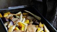 Recipe Pork Pear and Parsnip
