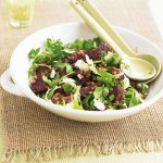 Recipe: Beetroot And Lentil Salad With Creamy Goat's Cheese
