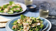 Warm Turkey, Spinach & Pine Nut Salad