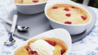 Raspberry Clafoutis With Ground Almonds