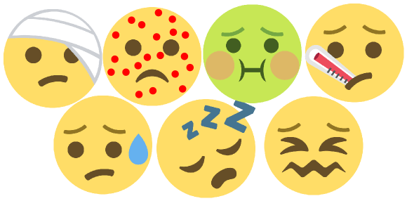 Meningitis symptoms feature