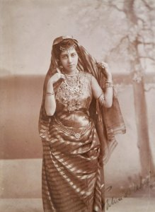 Sophie Duleep Singh Photograph by Robert Kybird