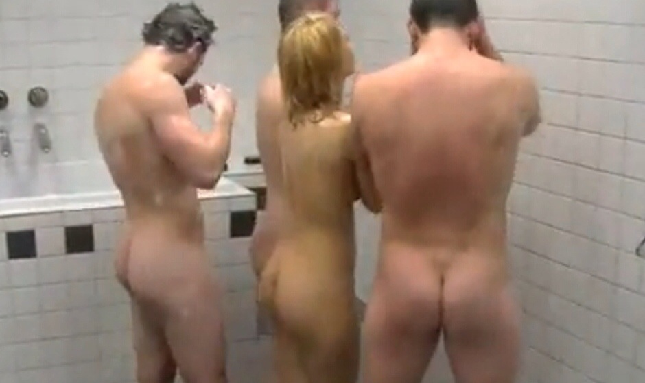 Idea)))) Coed group shower nude for that