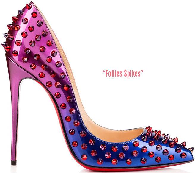 Why you should get a pair of spiky shoes…  #SpikyHaven