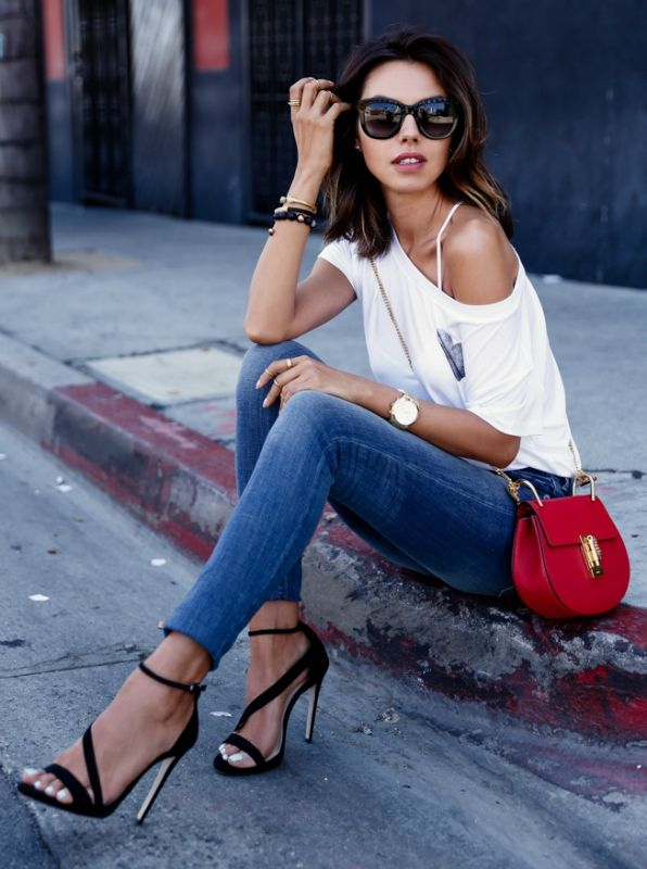 Styling Ankle Heeled Sandal