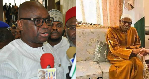 Fayose Threatens to Release 11 Damaging Pictures on Buhari's Health