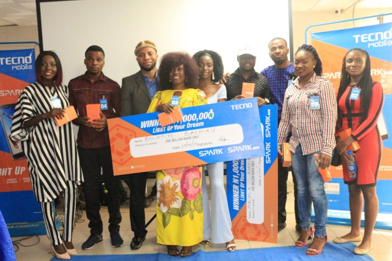 Say Hi to the Newest Millionaires From the Tecno Mobile #Lightupyourdream