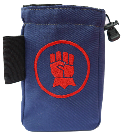 Crimison Fist Bag