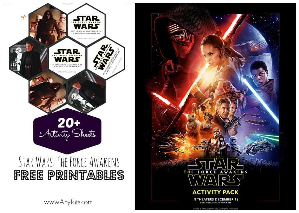 Free Star Wars Printables 20 Star Wars Activity Sheets Any Tots