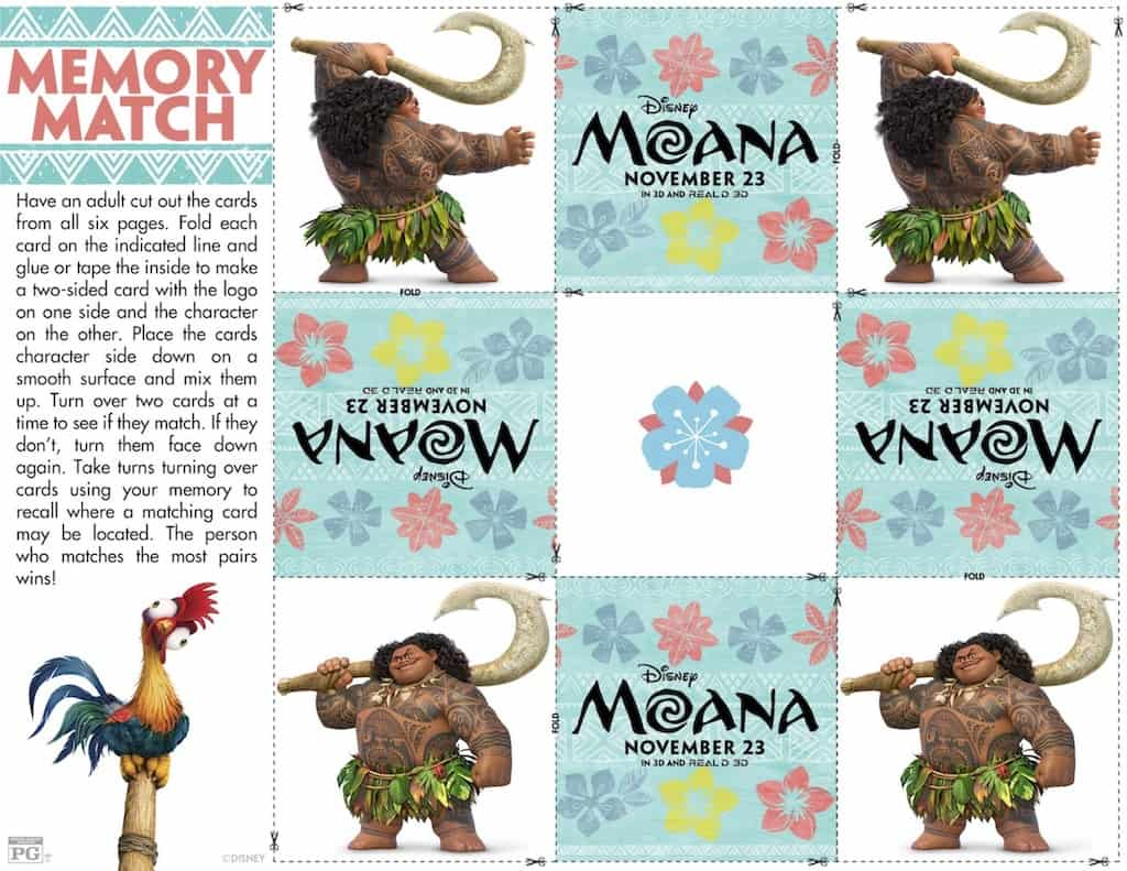 Free Printable Moana Coloring And Activity Sheets Any Tots