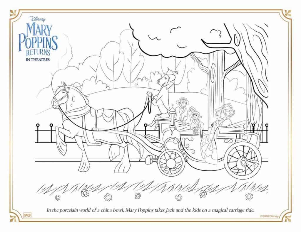 Free Printable Mary Poppins Returns Coloring Amp Activity Sheets