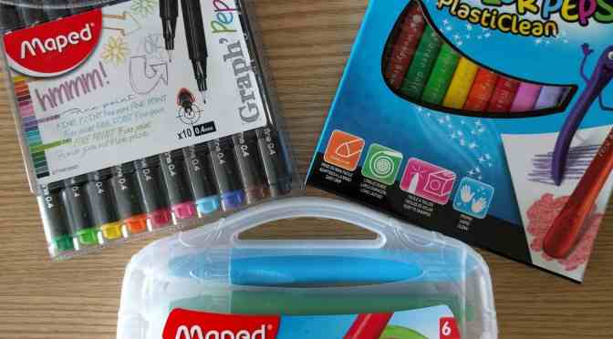 Brilliant Stationery from Maped Helix – Review