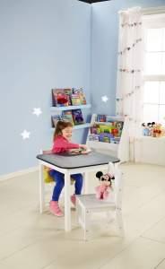 Playroom Blackboard Table & Chair Set