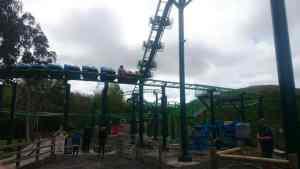 The fun roller coaster