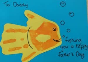 Fathers Day Fish Card