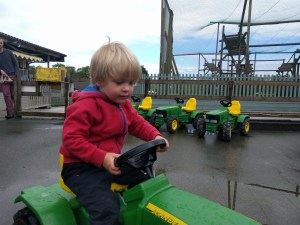 Playing on the Tractors
