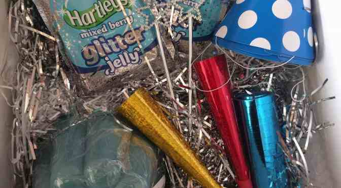 A Sparkly Glitter Party with Hartley's Jelly
