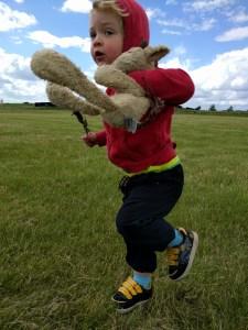 Crazy boy at Snetterton