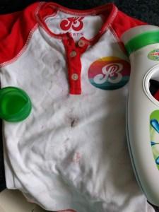 Boy we got messy