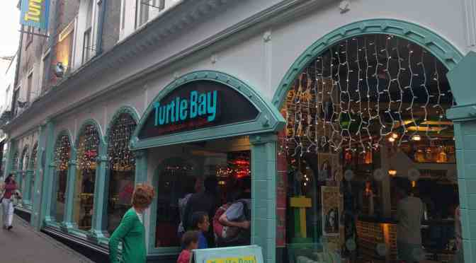 A New Menu at Turtle Bay