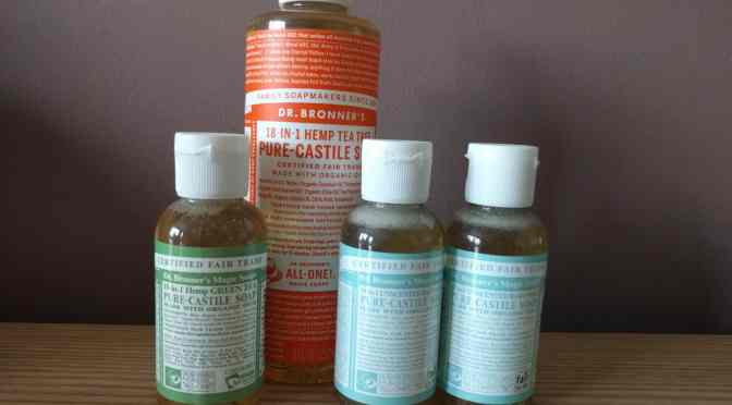 Treating Myself with Dr. Bronner's