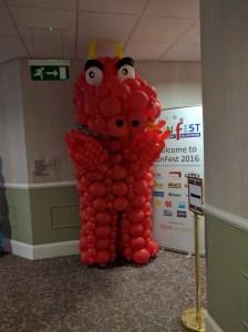 Balloon Dragon at FunFest