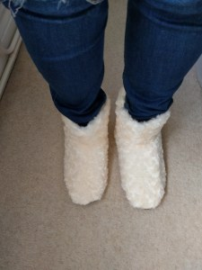 My heated slippers