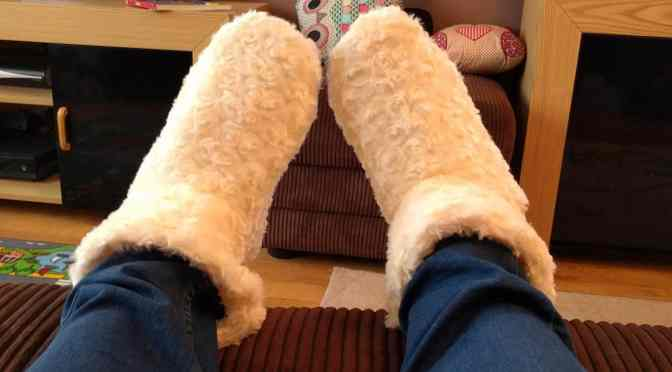 Heated Slippers from Primrose