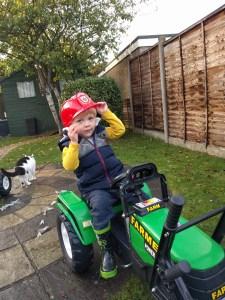 L's new tractor
