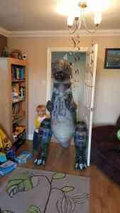 His new dinosaur