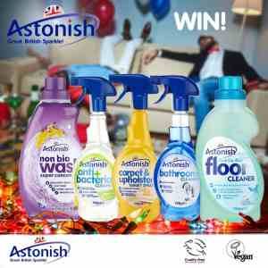 Astonish Antibacterial Cleanser And Glass Cleaner