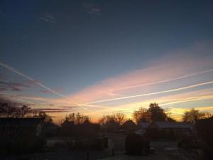 Pretty Norfolk Skies
