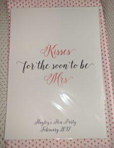 Kisses for the Mrs Print - Team Hen