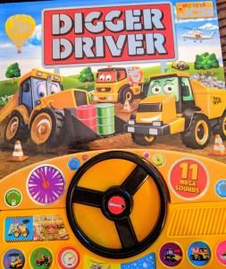 Igloo Books Digger Driver