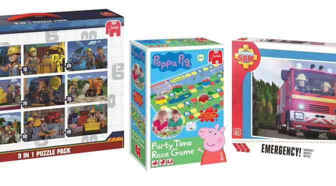 Win a kids game and puzzle bundle from Jumbo Games