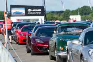 supercar event 2016 in aid of the Children's Trust
