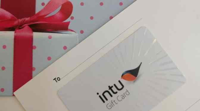 Thank You Gifts from intu Chapelfield