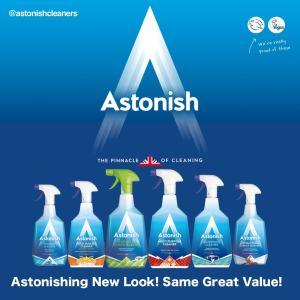 Astonish New Look Range
