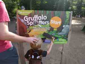 Gruffalo Spotters Trail Sign