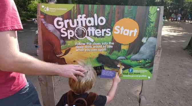 Gruffalo Spotters Trail Sign