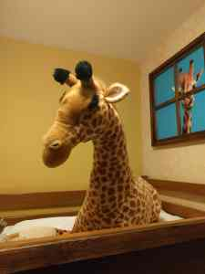 giraffe room chessington